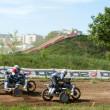 Sidecar motocross — Stock Photo