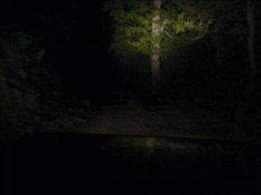 Roads night 2 cuts — Stock Video