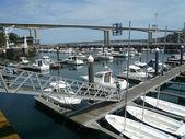 Ribadeo port — Stock Photo