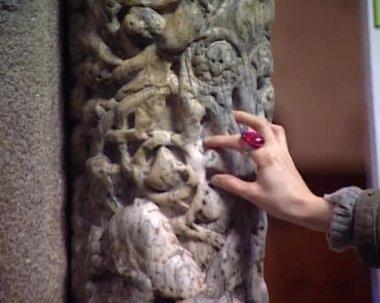 Cathedral of Santiago de Compostela — Stock Video