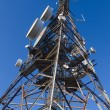 Telecommunications tower — Stock Photo #25595263