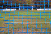 Voetbal doel netten — Stockfoto