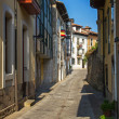 Llanes in Asturias Street. Spain — Stock Photo