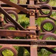 Scrap agricultural tool — Stock Photo