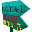 Address Signs Route Indicator — Stock Photo