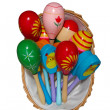 Basket with Maracas  — Stock Photo
