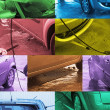 Stock Photo: Photomontage Hand Car Wash