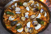 Paella Cooked — Stock Photo