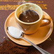 Stock Photo: Caffè espresso italiano
