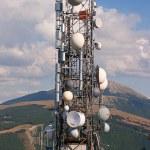 Antenna tv and radio — Stock Photo #23373404