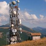 Antenna tv and radio — Stock Photo #23374810
