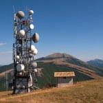 Antenna tv and radio — Stock Photo #23374816