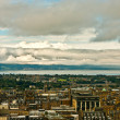 Stock Photo: Panoramof Edinburgh, Scotland