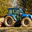 Tractor in a field - 
