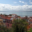The the Tejo river — Stock Photo
