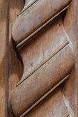 木质门 — 图库照片