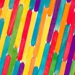 Colored wood sticks — Stock Photo #30973347