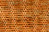 Parede de tijolo grande — Foto Stock