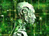 Android revela tecnologia interna do seu circuito elétrico 10 — Foto Stock