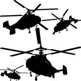 ヘリコプターのベクトル — ストックベクタ