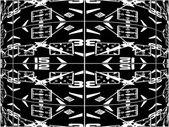 Vetor de relógio esférico curvo abstrata — Vetorial Stock