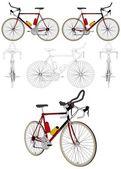 自行车矢量 — 图库矢量图片