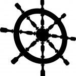 Helm Steering Wheel Vector — Stock Vector #24132723