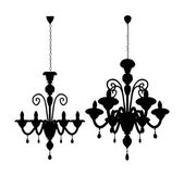 Luster Chandelier Vector — Stockvektor