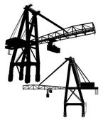 Gantry Crane Vector 01 — Stock Vector
