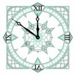Stock Video: Gothic Cube Clock Countdown From 10 to 0 Animation 02