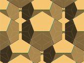 Araña neto línea geométrica caleidoscopio vector — Vector de stock