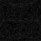Diamond Crystal Geometric Pattern Structure Vector — Stock Vector