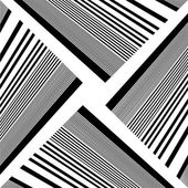 Black And White Pattern Vector — Vector de stock