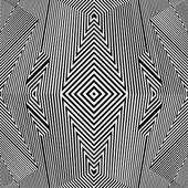 Black And White Pattern Vector — Stock Vector