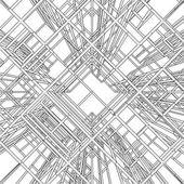 抽象的な建設構造ベクトル — ストックベクタ