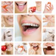 Stock Photo: Dental care collage (dental services)