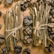Stock Photo: Willow bark medical