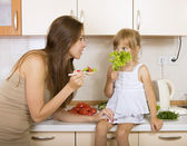 Child with no appetite  — Stock Photo