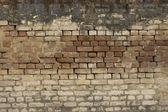 Vecchio muro di mattoni: Texture di mattoni dell'annata — Foto Stock