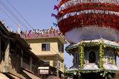 Gokarna, Índia - 27 de fevereiro: as pessoas celebram o hind mahashivratri — Fotografia Stock