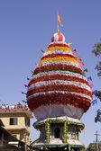 GOKARNA, INDIA - Feb 27: People celebrate the Mahashivratri Hind — Stock Photo