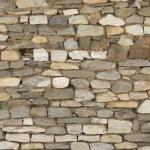 Old brick wall: Texture of vintage brickwork - stone brick — Stock Photo #48481971