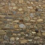 Old brick wall: Texture of vintage brickwork - stone brick — Stock Photo #48482089