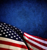 The american flag — Stock Photo