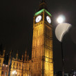 Big Ben at Night - Stock Photo