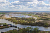 Volga river — Stock Photo