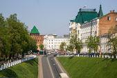 Nizjnij novgorod kreml — Stockfoto