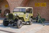 Vojenská vozidla — Stock fotografie