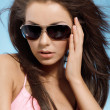 Woman with sunglasses  — Lizenzfreies Foto