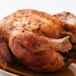 Chicken on plate — Stock Photo